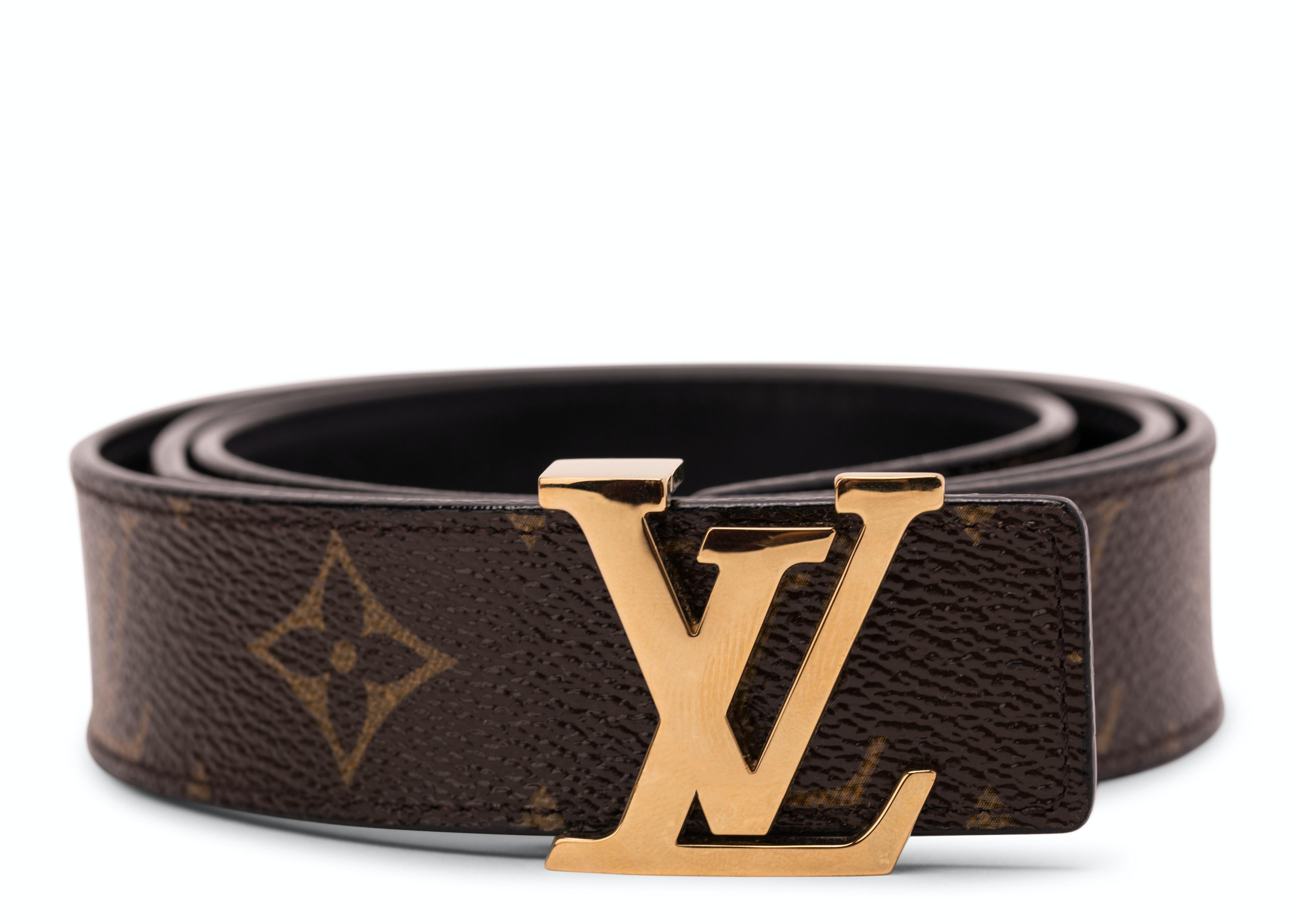 Louis Vuitton Belt Initiales Reversible Monogram Noir Black/Brown