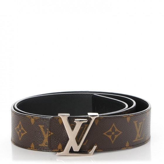Louis Vuitton Belt LV Initiales Monogram 100/40 Brown
