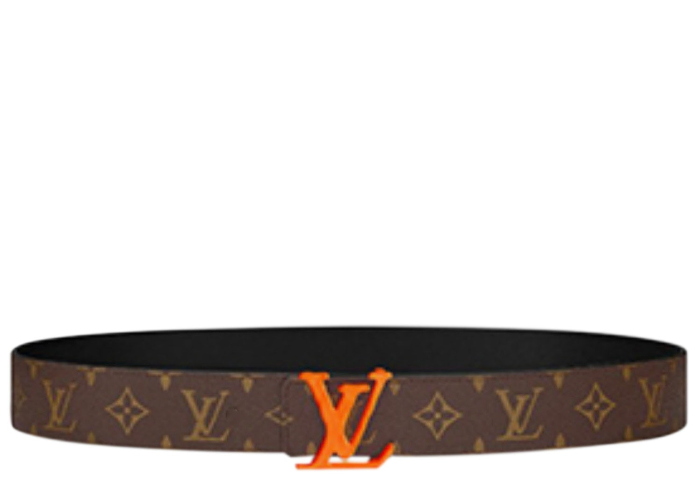 Louis Vuitton Belt LV Initiales Monogram 40MM Brown/Beige