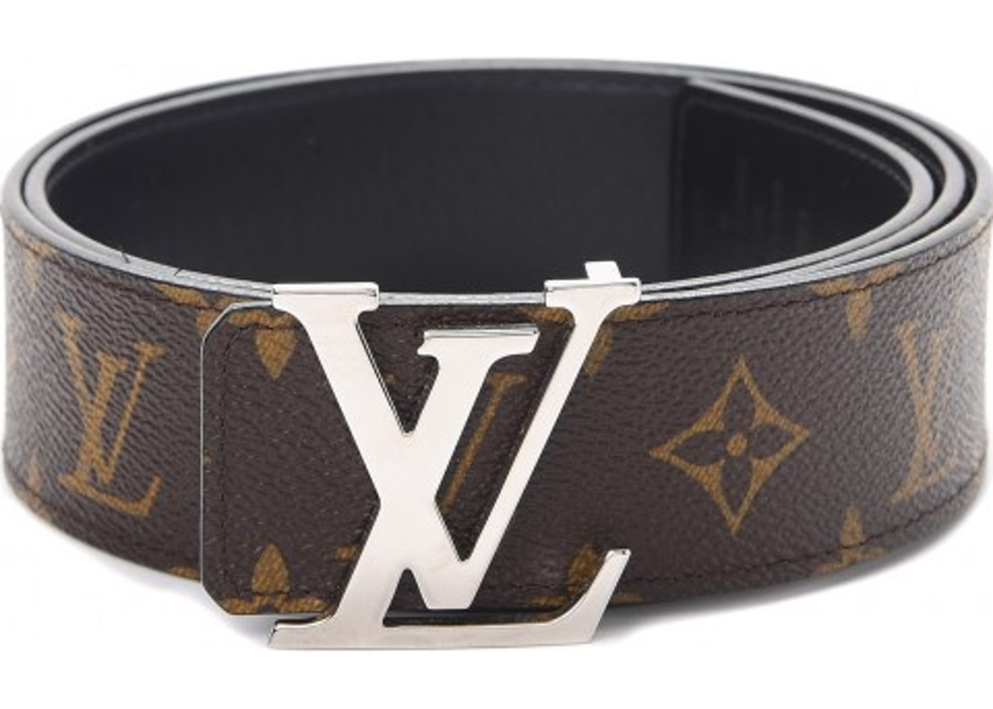 2ac1cf043f5c Louis Vuitton Belt LV Initiales Reversible 1.5 Width Monogram Noir ...