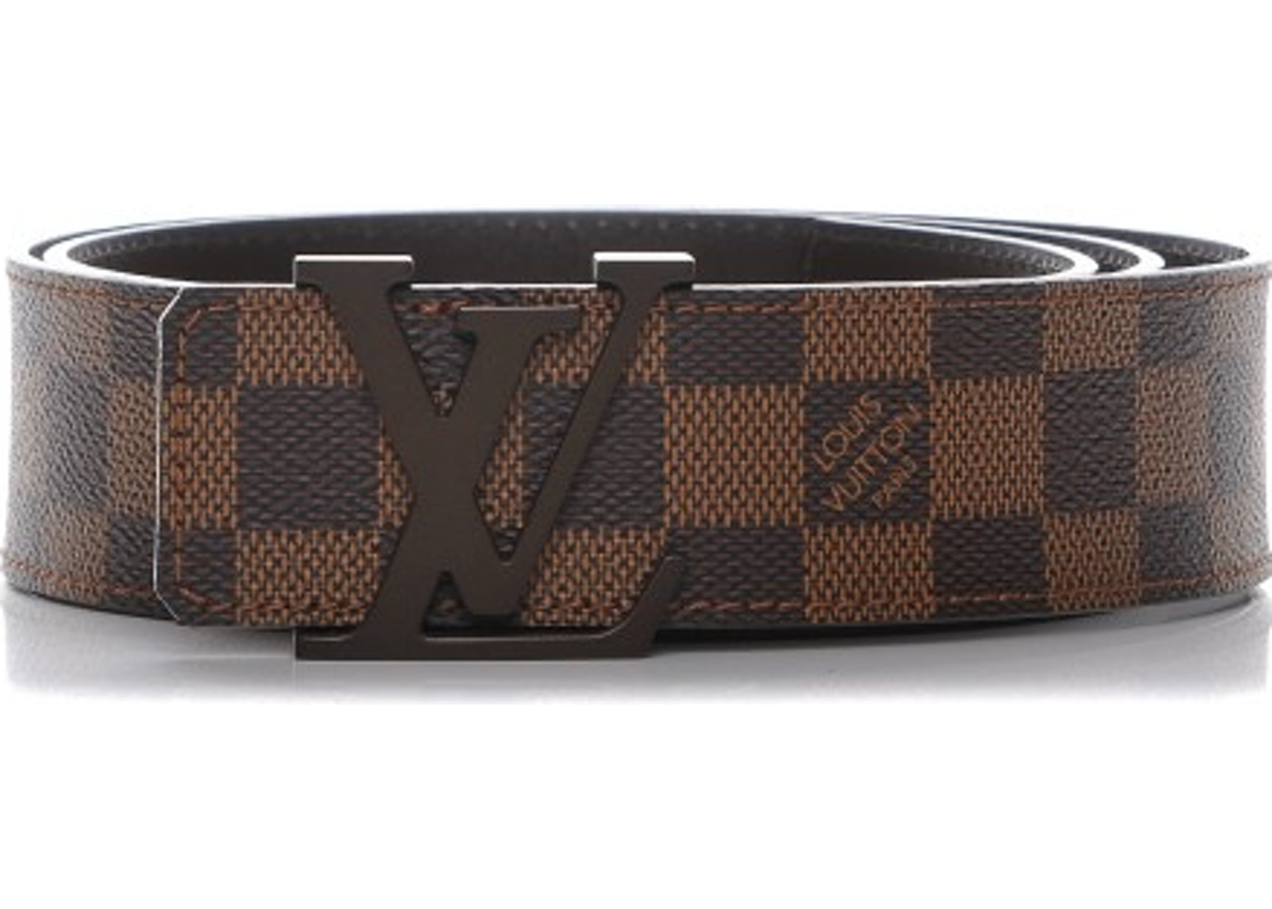 4626f1b2a392 Sell. or Ask. View All Bids. Louis Vuitton Belt LV Initials Damier Ebene  95 38 Brown