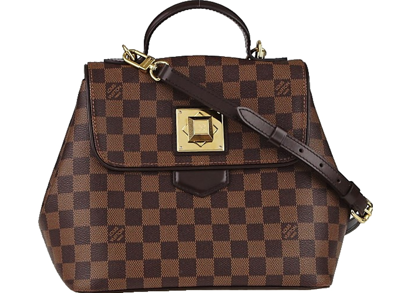 022293778dca Louis Vuitton Bergamo Damier Ebene PM Brown
