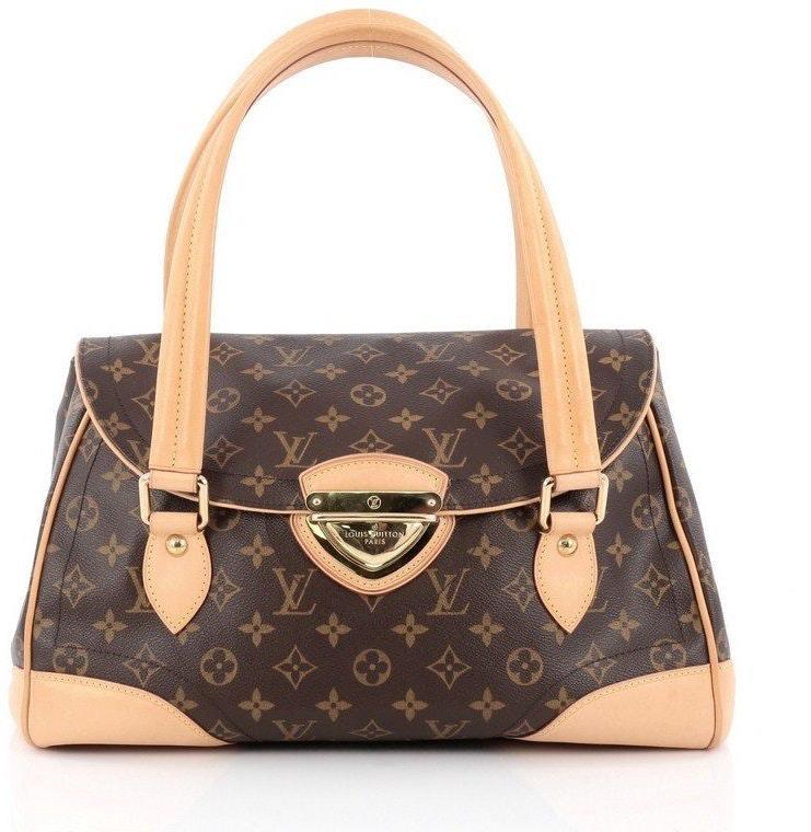 Louis Vuitton Beverly Monogram GM Brown