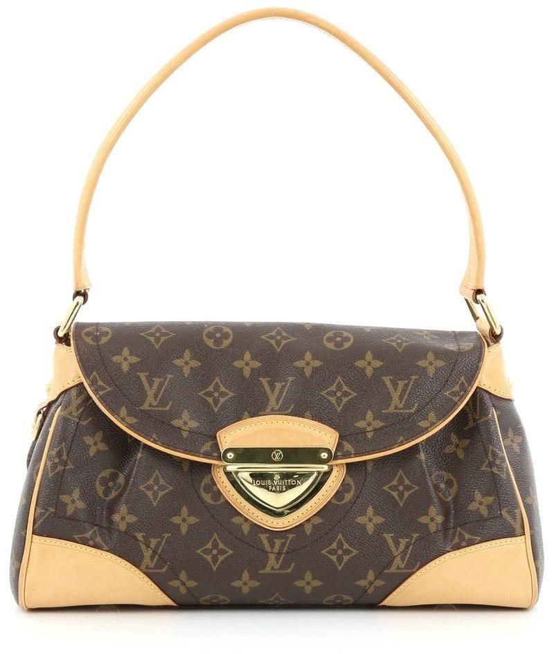 Louis Vuitton Beverly Monogram MM Brown