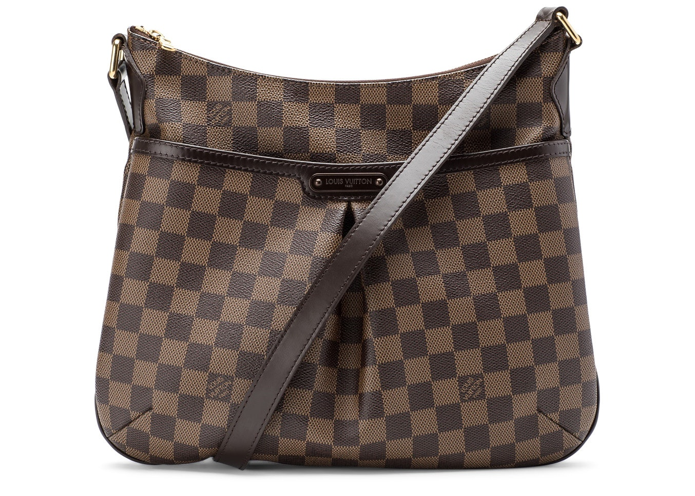 Louis Vuitton Bloomsbury Damier Ebene PM Brown