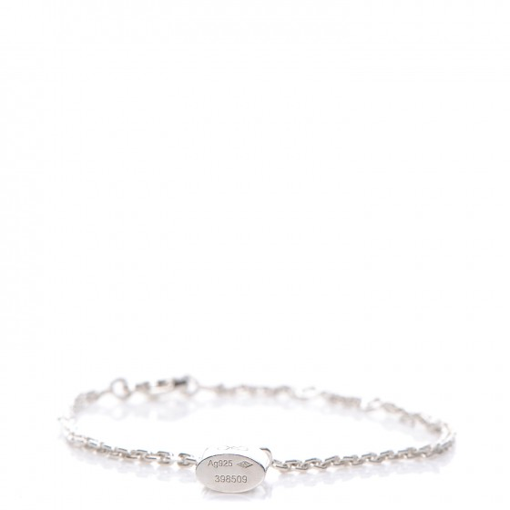 Louis Vuitton Bracelet Lockit Sterling Silver