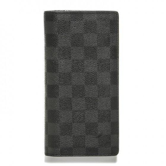 Louis Vuitton Wallet Brazza Damier Graphite