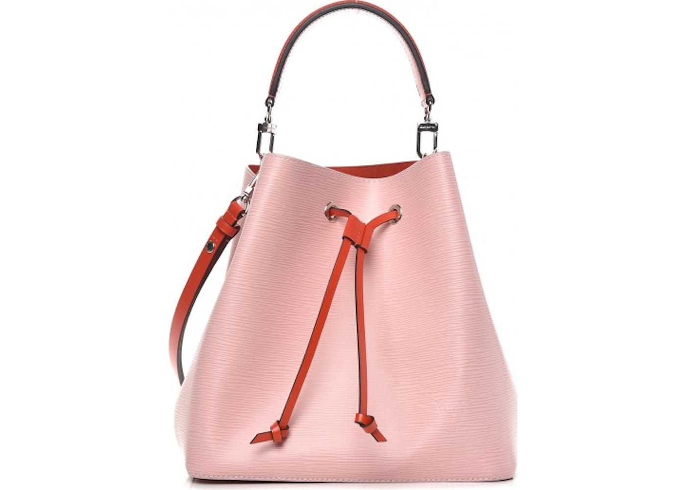 8bf48c908d7c Louis Vuitton Bucket Bag NeoNoe Epi Rose Ballerine Orange. Epi Rose  Ballerine Orange