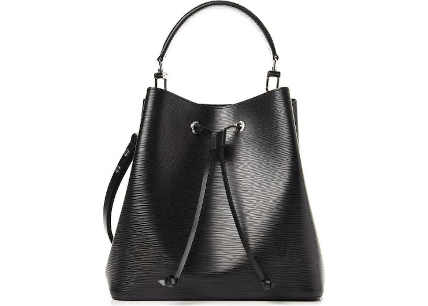 df548a7ce637 Louis Vuitton Bucket Bag Neonoe Epi Noir Black. Epi Noir Black