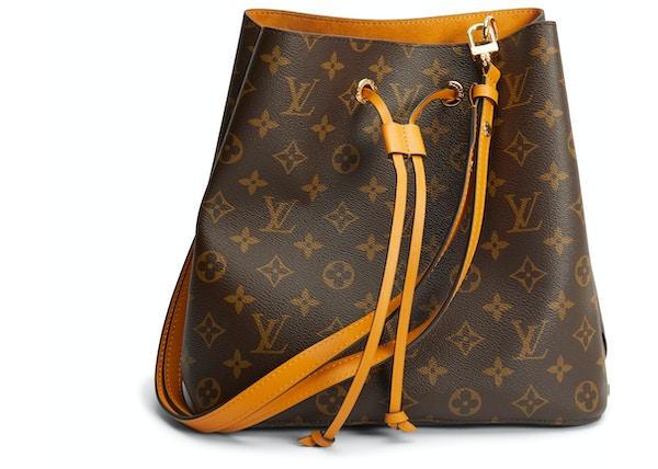 ef45ba7944 Louis Vuitton Bucket Bag Neonoe Monogram Safran