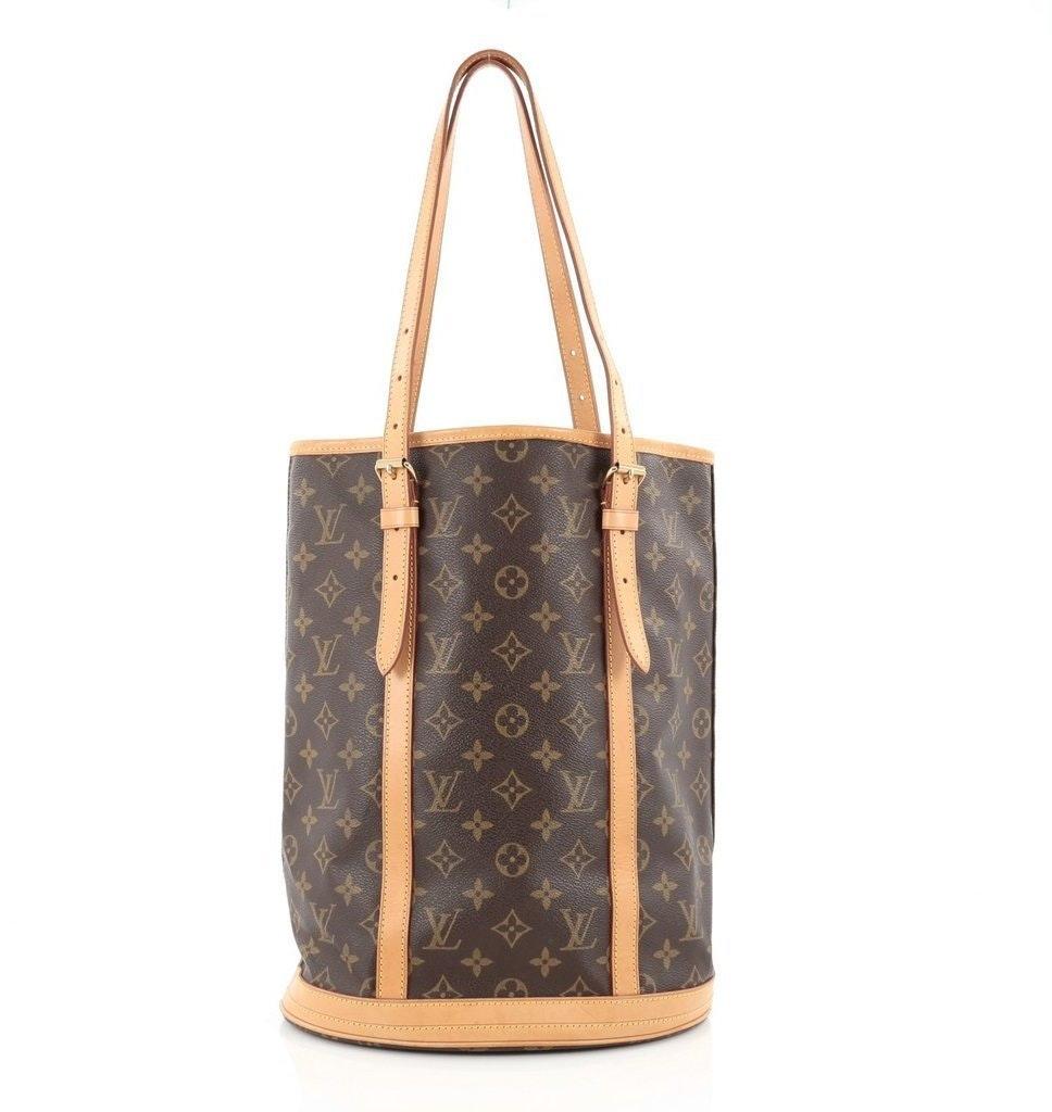 Louis Vuitton Bucket Monogram GM Brown