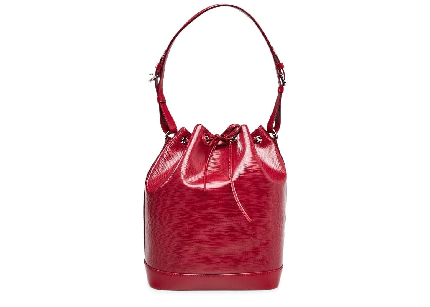 Louis Vuitton Bucket Noe Epi Fuchsia