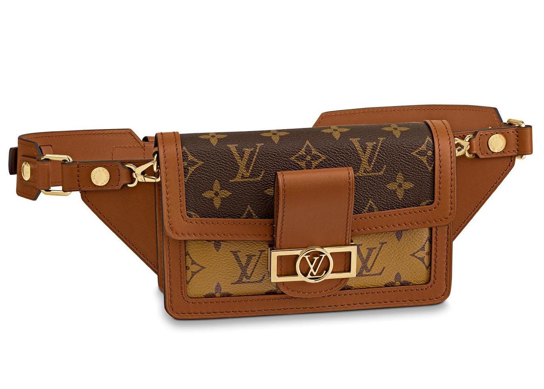 Louis Vuitton Bumbag Dauphine Monogram Reverse Brown