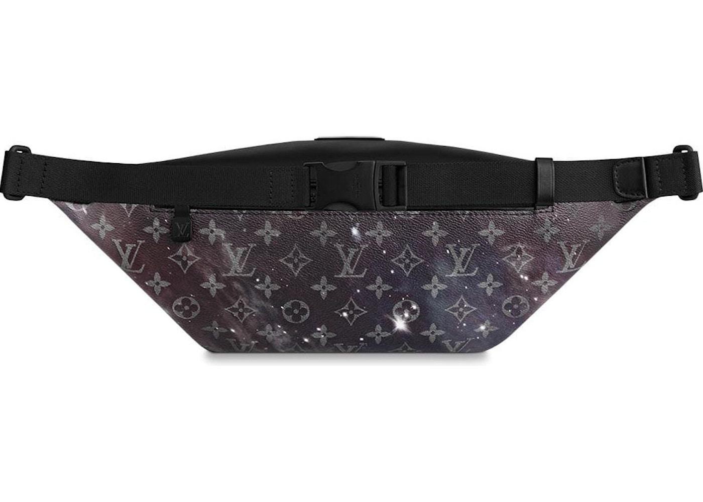 cb99ffc90b43e Louis Vuitton Discovery Bumbag Monogram Galaxy Black Multicolor