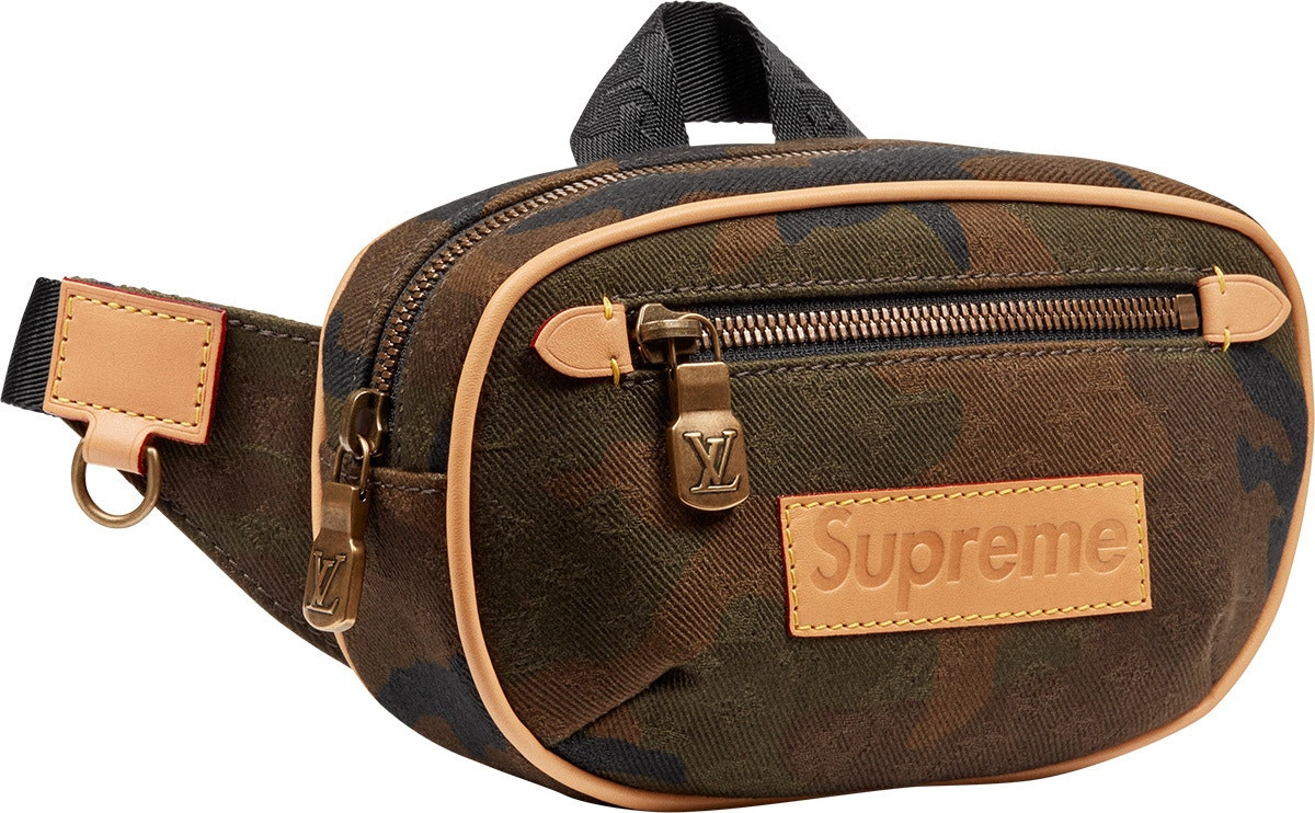 Louis Vuitton x Supreme Bumbag Monogram Camo PM Camo