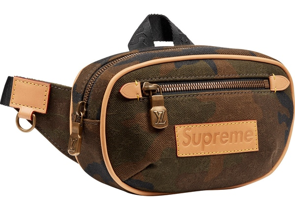 ff77fdcbfbb Louis Vuitton x Supreme Bumbag Monogram Camo PM Camo