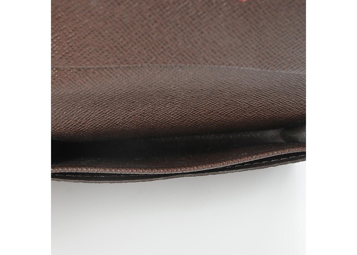 Louis vuitton business card holder damier ebene brown colourmoves