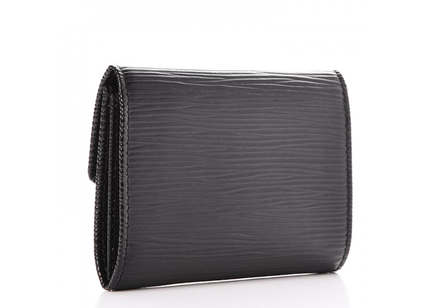 Louis vuitton business card holder epi noir black colourmoves