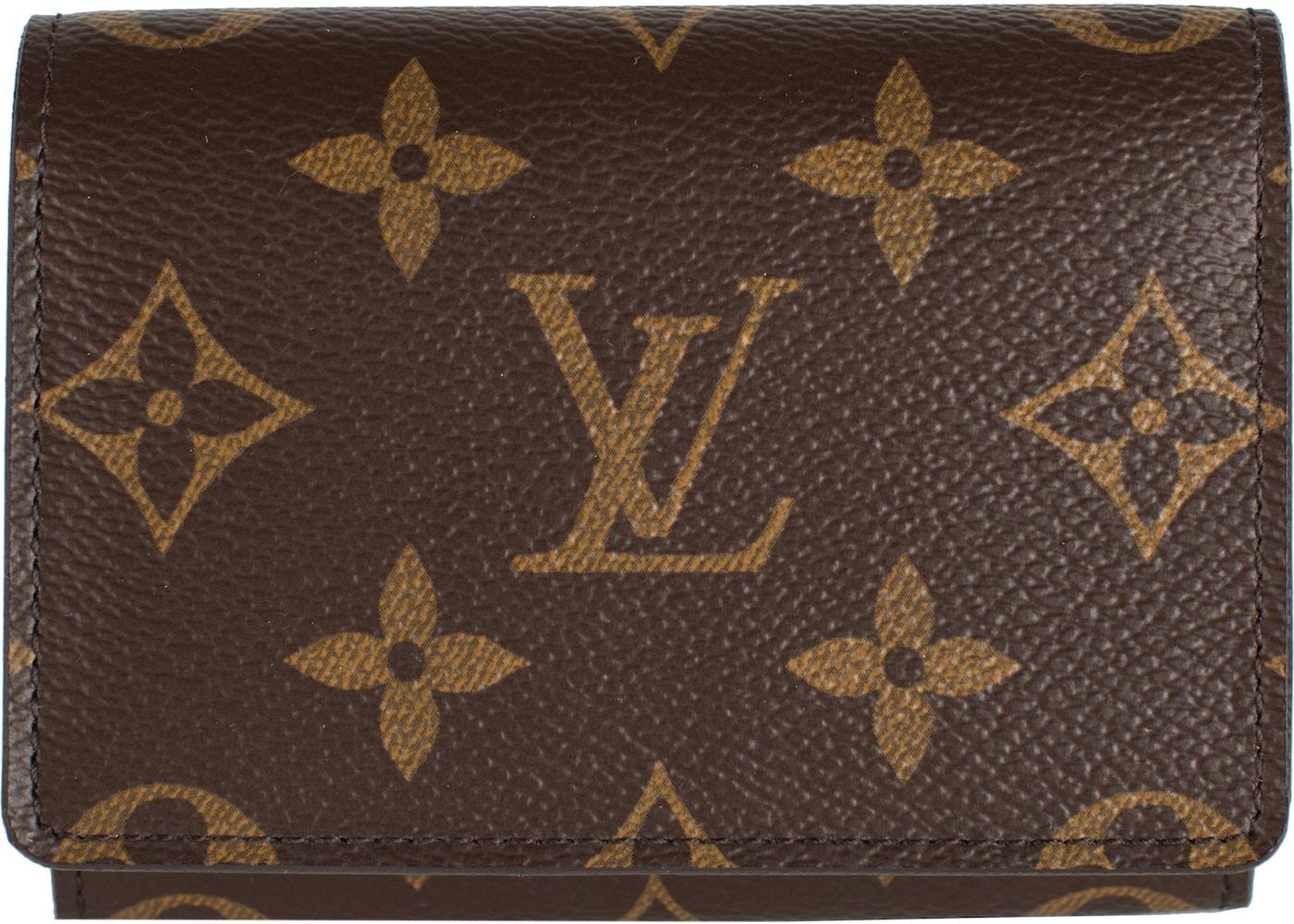 Vuitton business card holder monogram louis vuitton business card holder monogram colourmoves Images