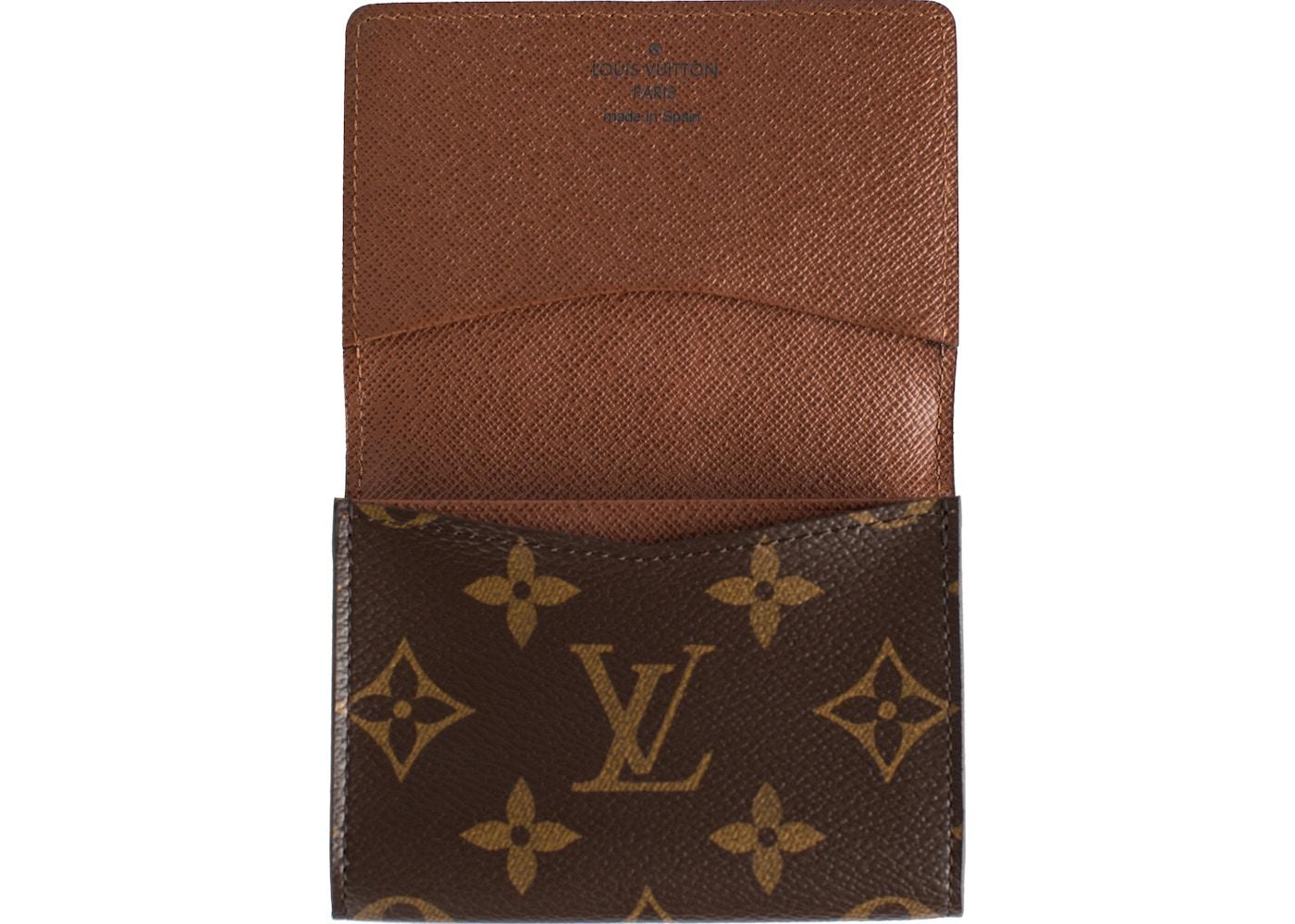 bd0635251b8b Louis Vuitton Business Card Holder Monogram
