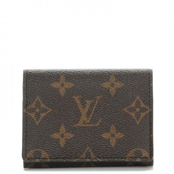 Louis Vuitton Business Card Holder Monogram