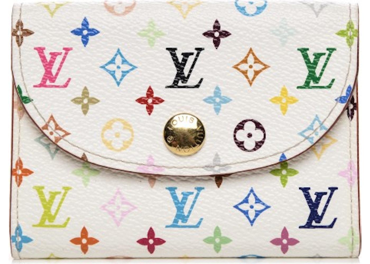 Louis vuitton flap business card holder monogram multicolor colourmoves