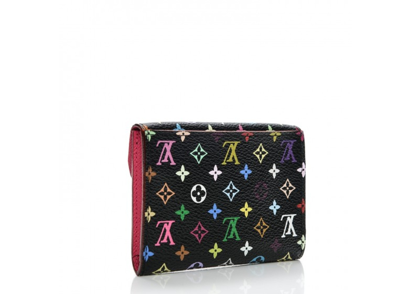 Louis Vuitton Flap Business Card Holder Monogram Multicolor