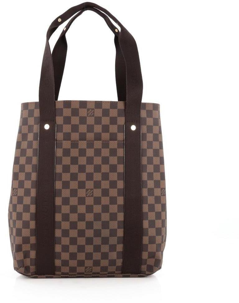 Louis Vuitton Cabas Damier Beaubourg Brown