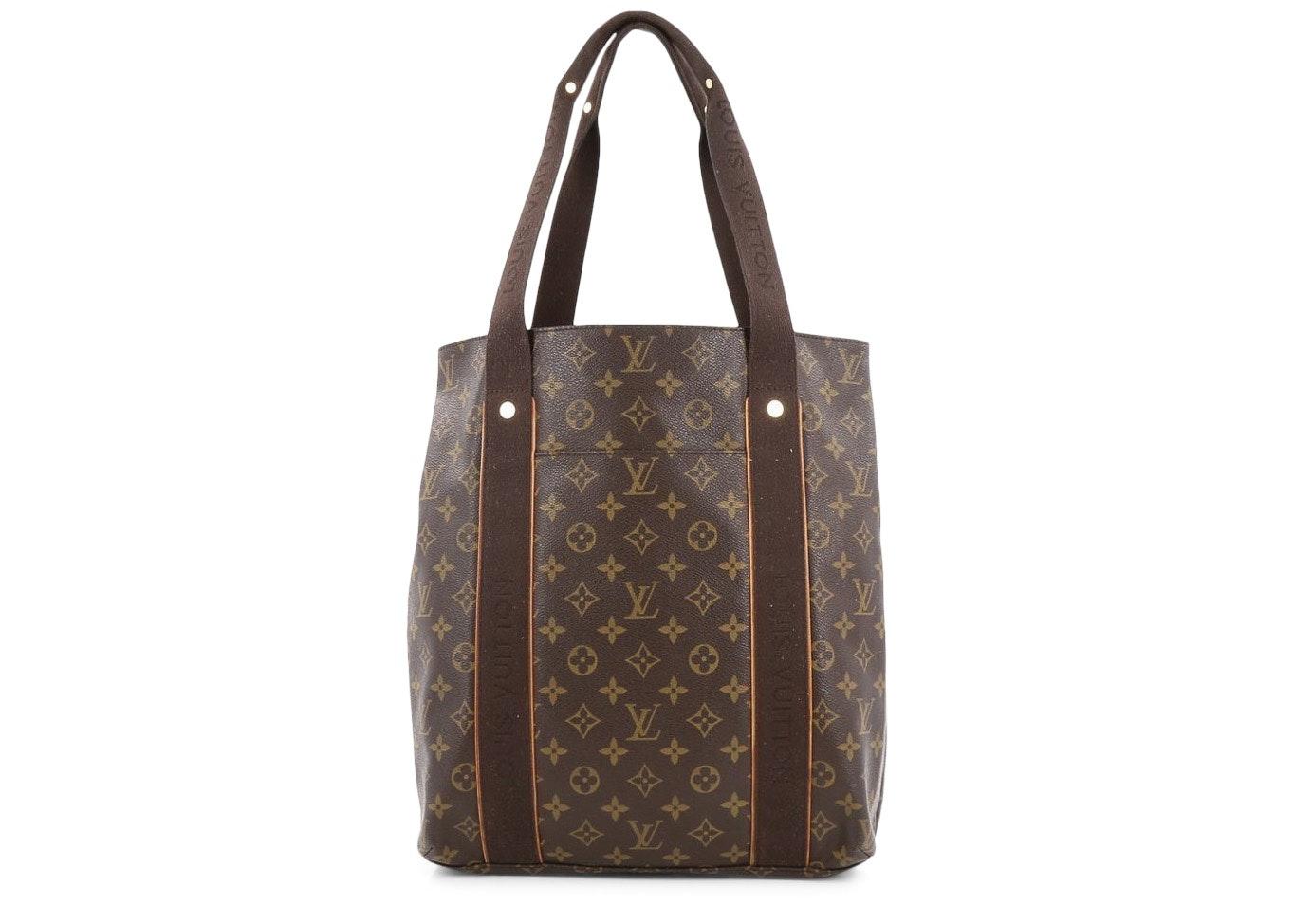 Louis Vuitton Cabas Monogram Beaubourg Brown