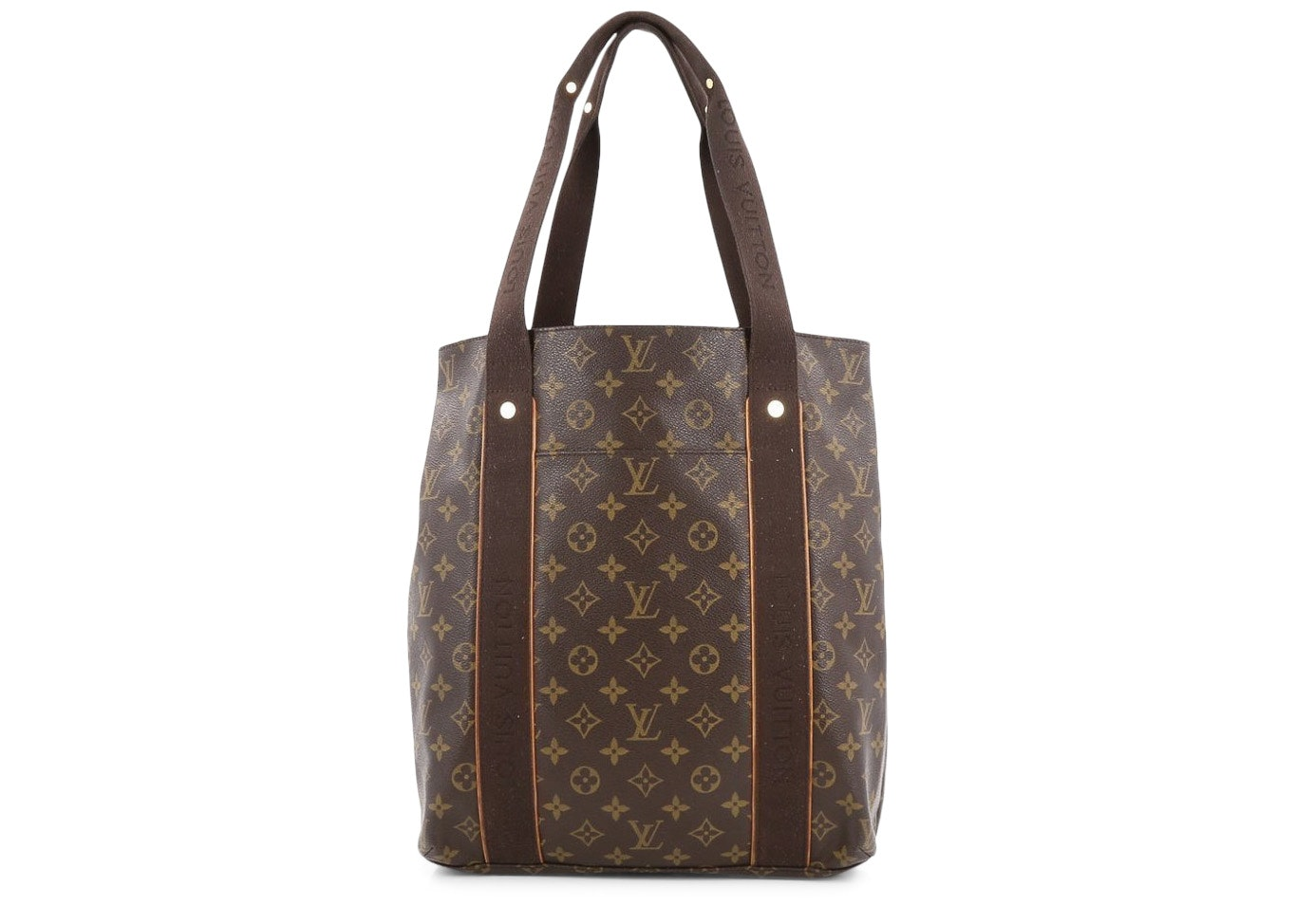Louis Vuitton Cabas Monogram Beaubourg Brown