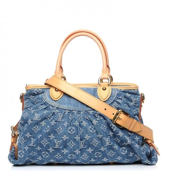 Louis Vuitton Cabby Neo Monogram MM Blue