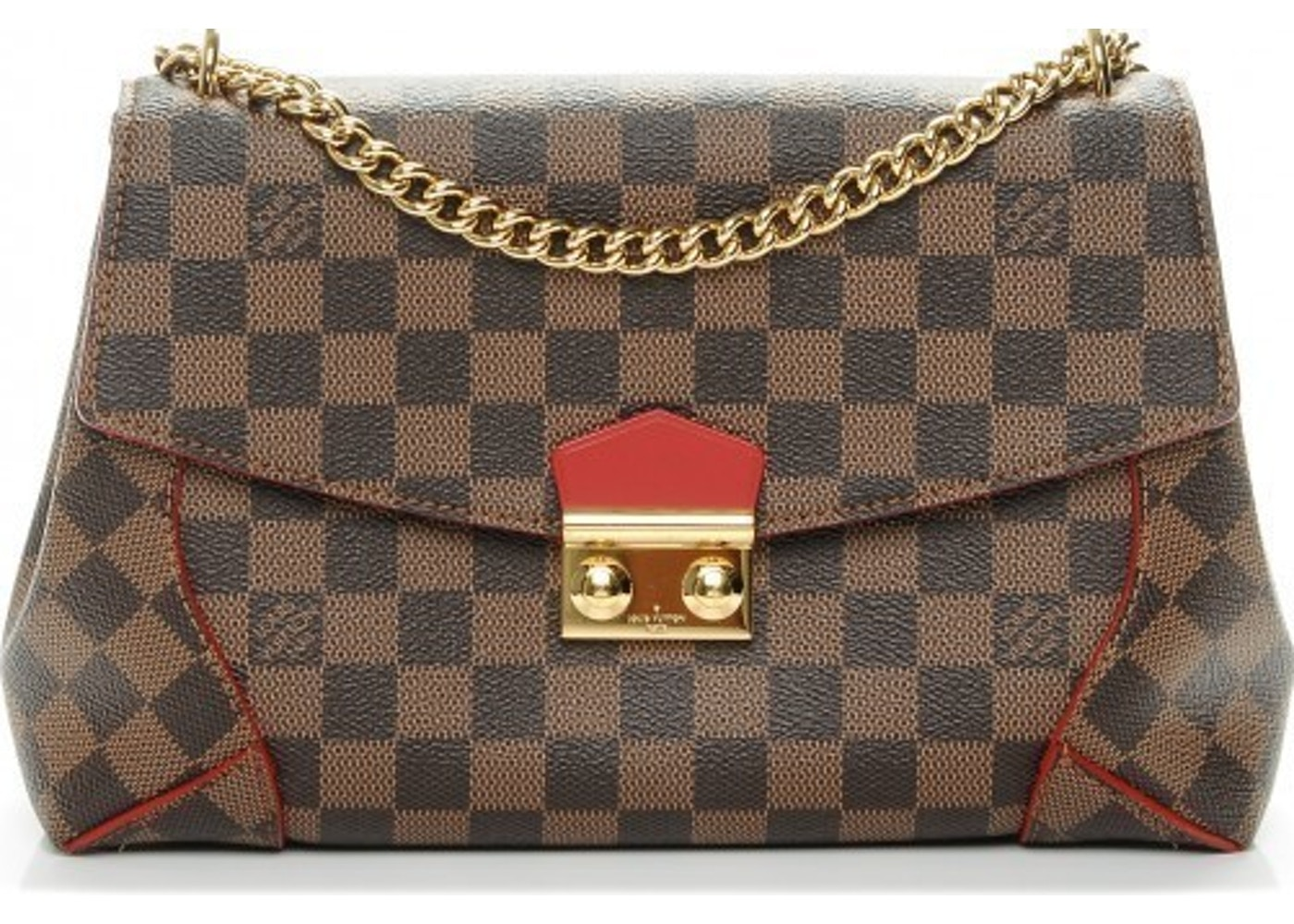 d04e8d38f28b Louis Vuitton Caissa Damier Ebene Brown Cerise Cherry
