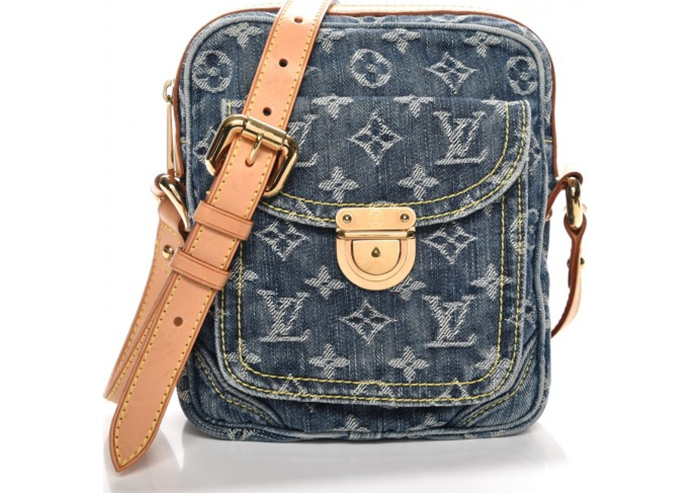7e5aa418a95c Louis Vuitton Camera Bag Monogram Blue. Monogram Blue