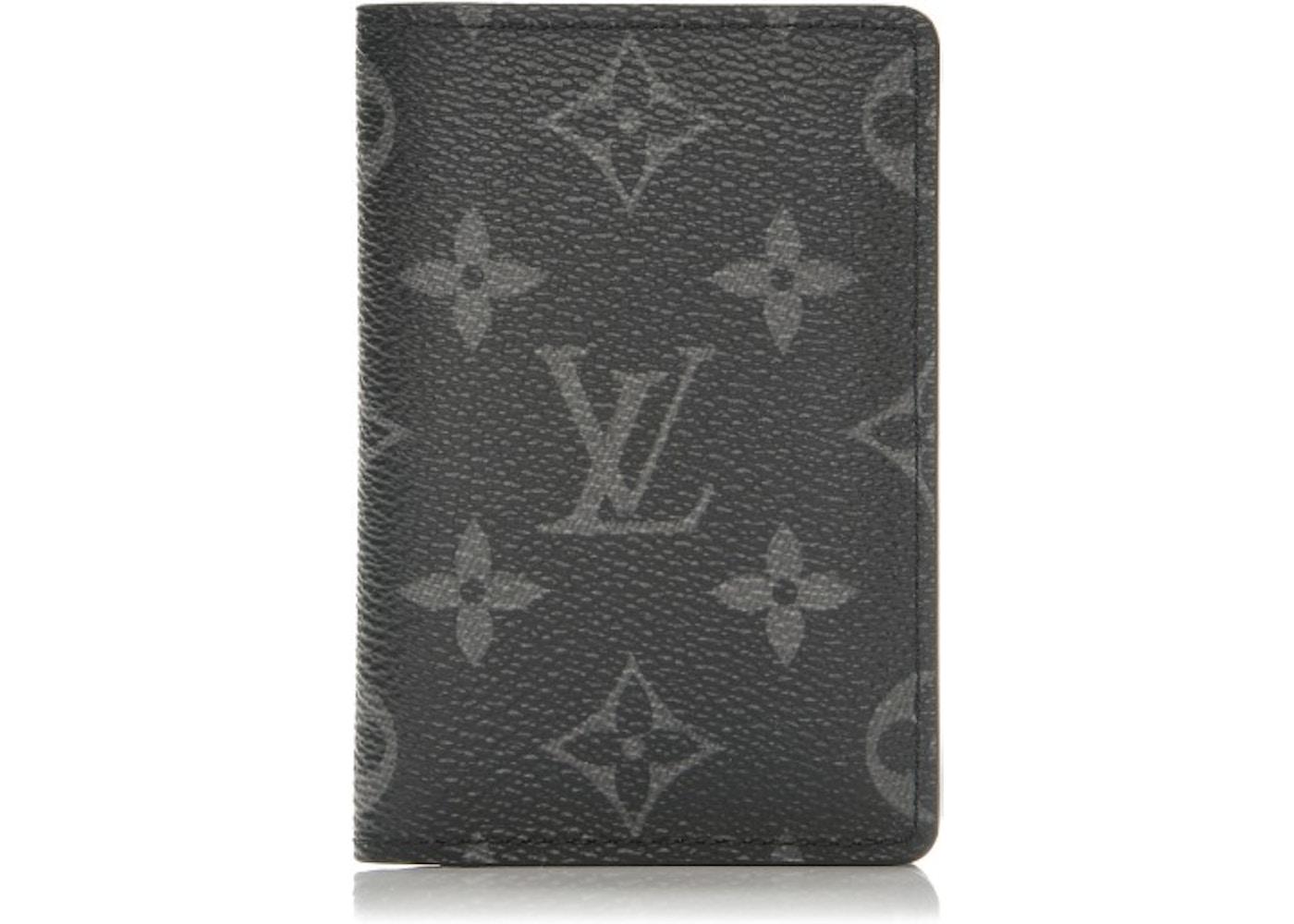 137c2b47755c Louis Vuitton Card Holder Eclipse Monogram Gray. Monogram Gray
