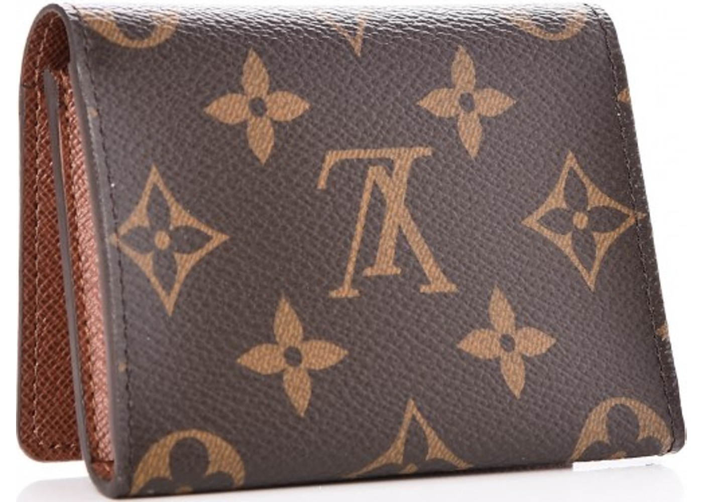 Sell Or Ask View All Bids Louis Vuitton Card Holder Envelope Carte De Visite Monogram Brown