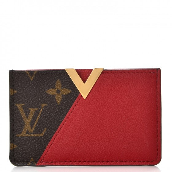Louis Vuitton Card Holder Kimono Monogram Cerise Cherry