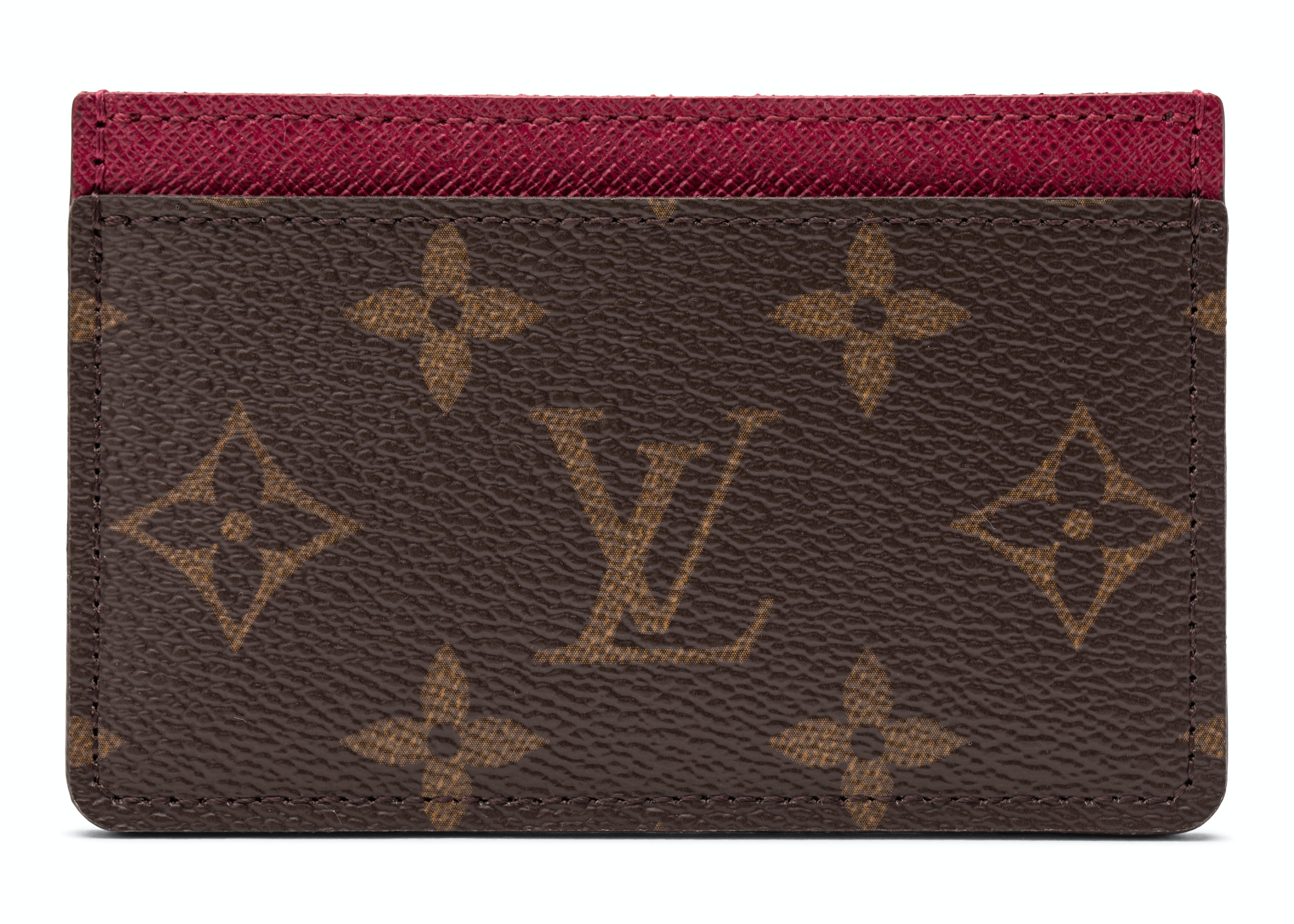 Louis Vuitton Card Holder Monogram Fuchsia