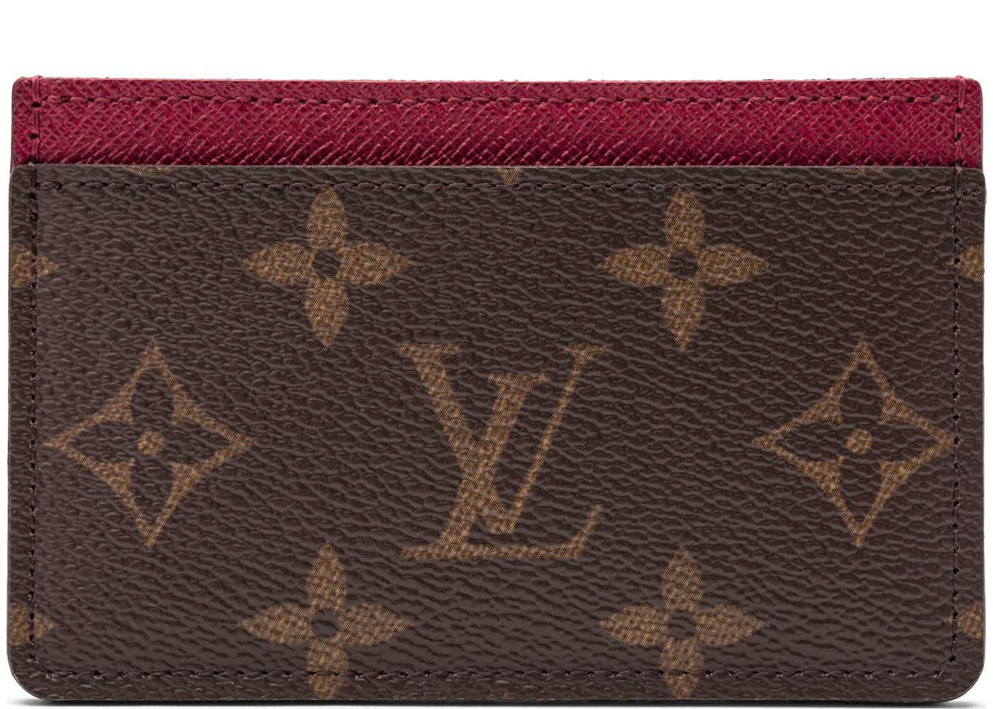 e799e9f34d9e Louis Vuitton Card Holder Monogram Fuchsia. Monogram Fuchsia