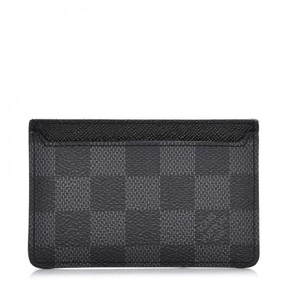 Louis Vuitton Card Holder Neo Porte Cartes Damier Graphite Black/Gray