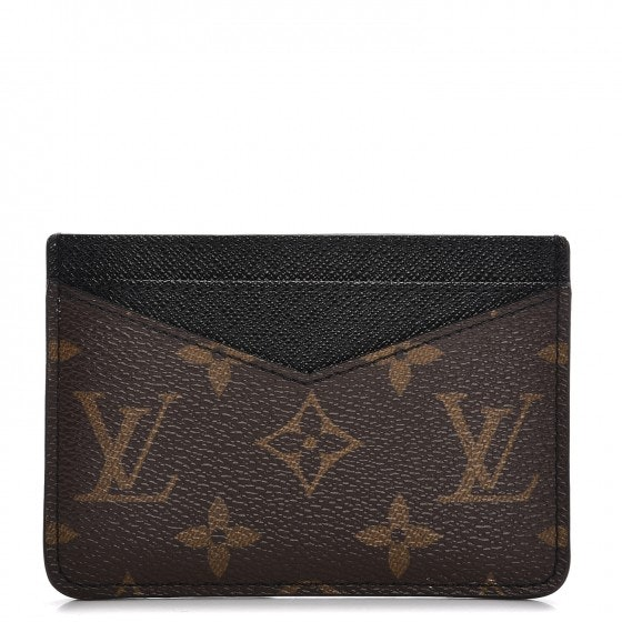 Louis Vuitton Card Holder Neo Porte Cartes Monogram Macassar
