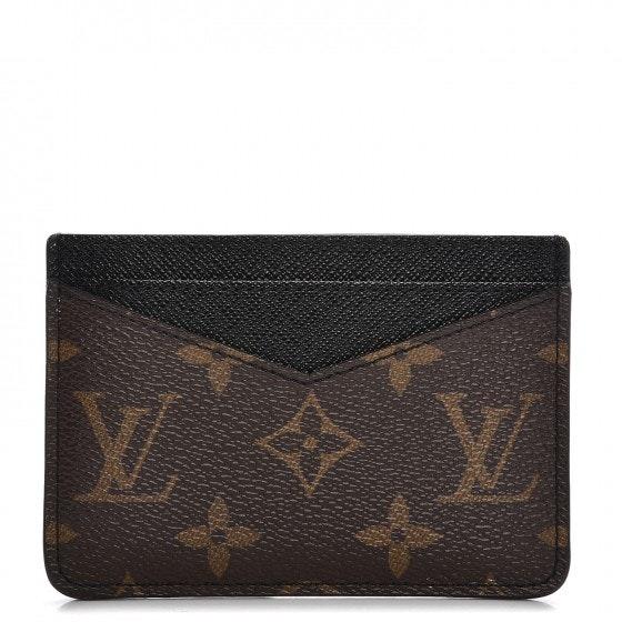 Louis Vuitton Card Holder Neo Porte Cartes Monogram Macassar