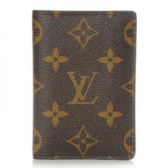Louis Vuitton Card Holder Pocket Organizer Monogram Brown