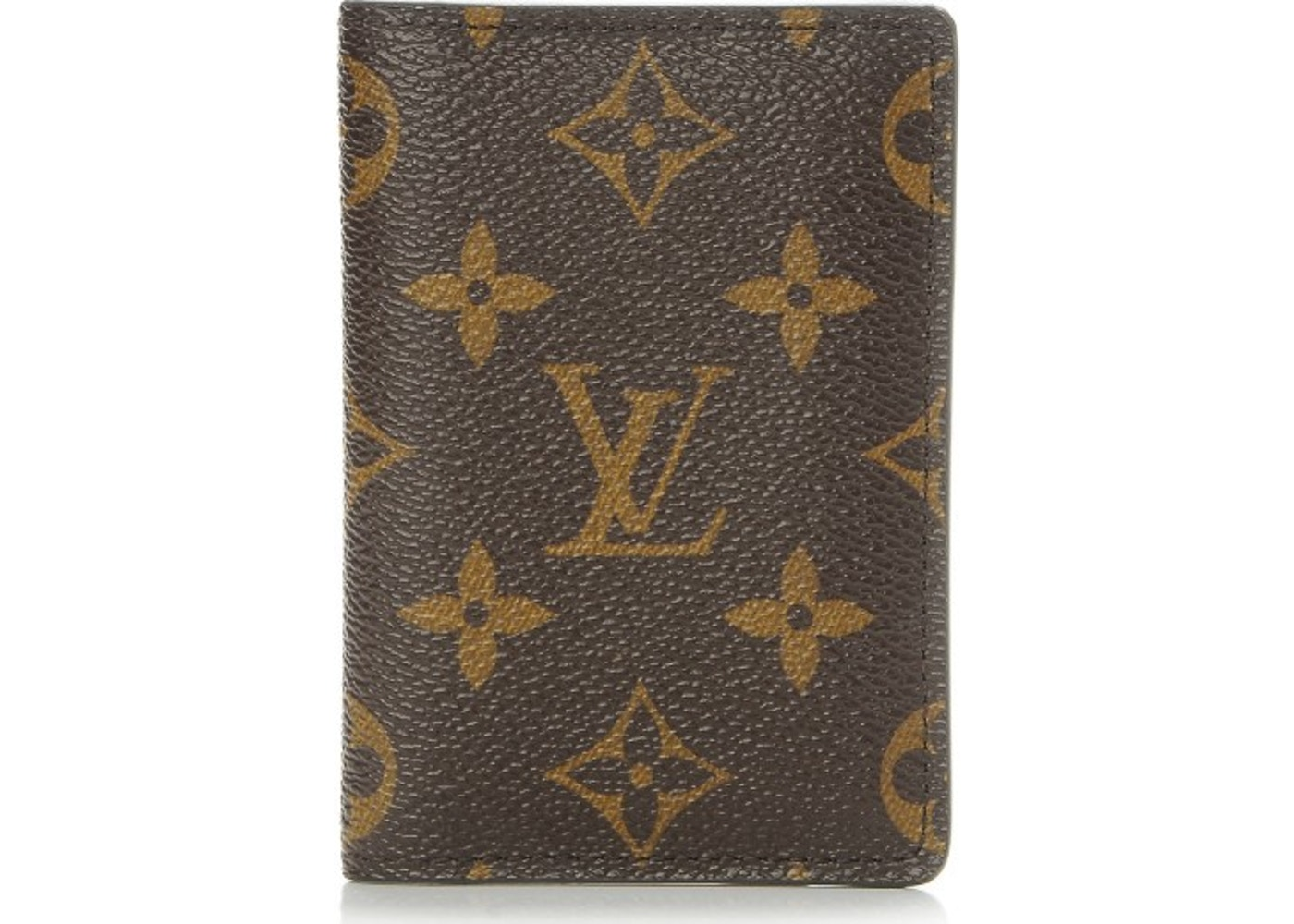 749dedbfa3cd Louis Vuitton Card Holder Pocket Organizer Monogram Brown. Monogram Brown