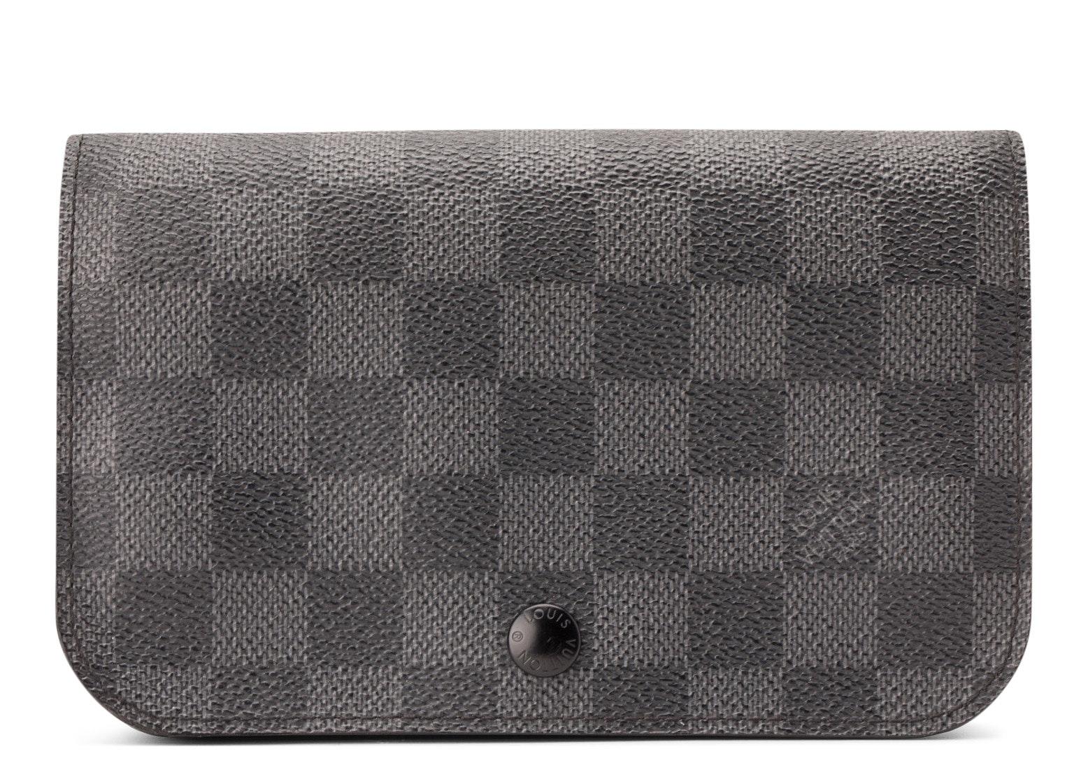 Louis Vuitton Ceinture Pochette Damier Graphite No Belt