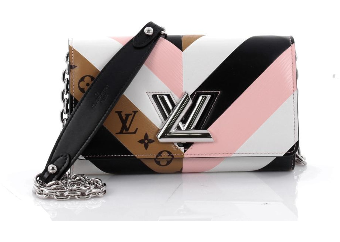 c690a9300d Louis Vuitton Chain Wallet Twist Epi/Monogram Pink/White/Black/Brown