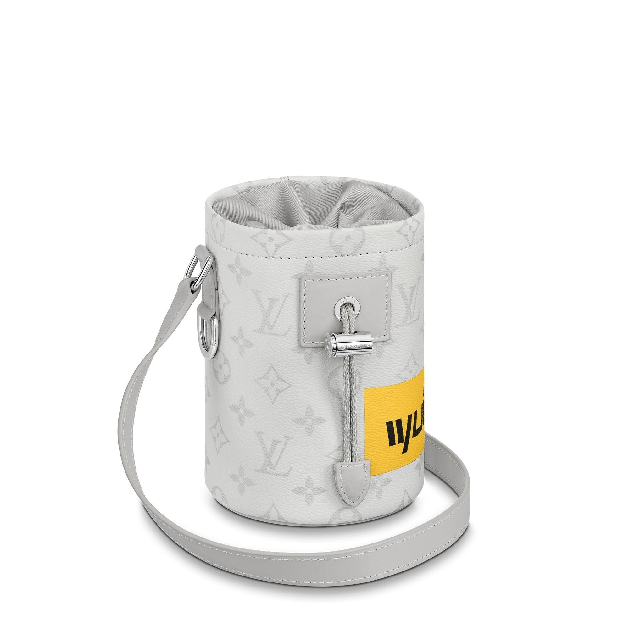 Louis Vuitton Chalk Nano Bag Monogram Logo Story White