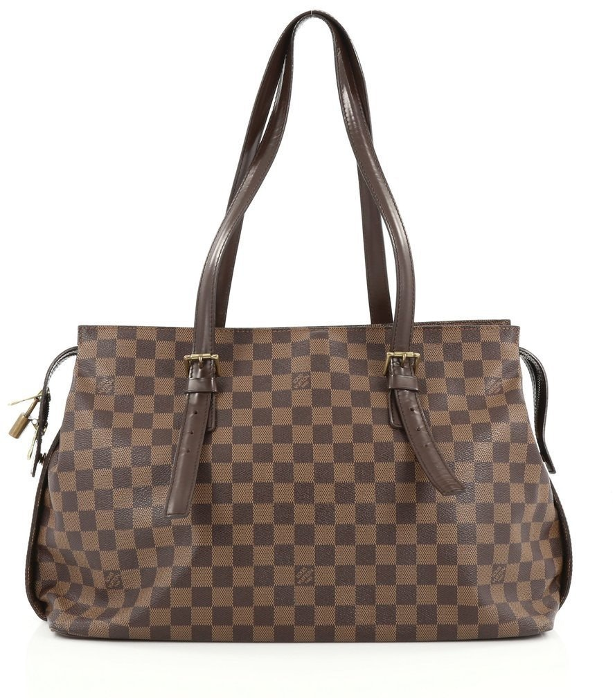 Louis Vuitton Chelsea Damier Ebene Brown