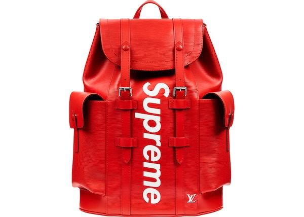 3d04a33fd5 Buy   Sell Louis Vuitton Supreme Handbags - Average Sale Price