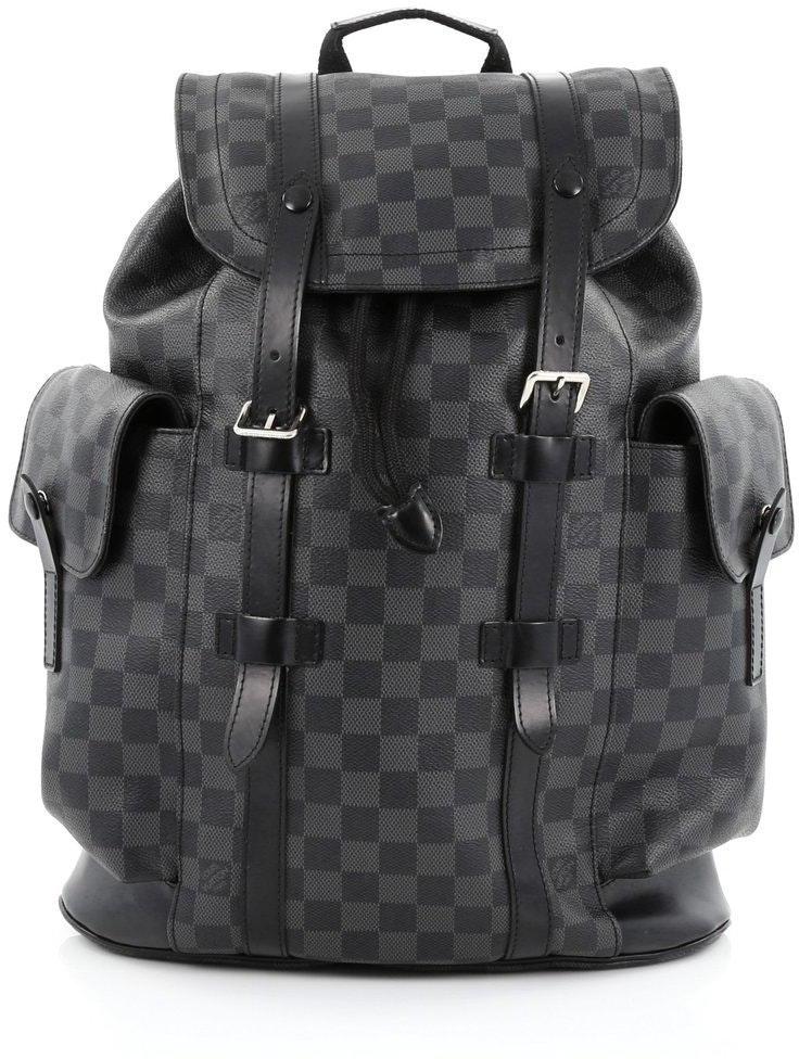 Louis Vuitton Christopher Damier Graphite PM Black