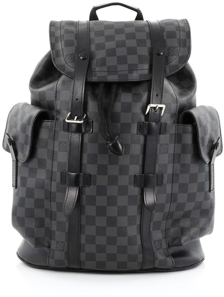 Louis Vuitton Christopher Damier Graphite PM Black